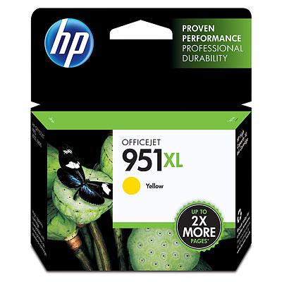 HP 951XL High Yield Yellow Original Ink Cartridge(CN048AA)