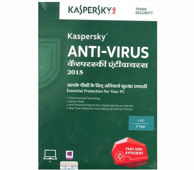Kaspersky Anti-Virus 2015 1 PC 3 Year-Kaspersky Anti-Virus 2015