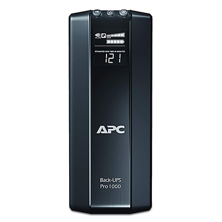 APC BR1000G 600-watt KVA Battery Backup (Black)-APC BR1000G 600-watt KVA Battery Backup (Black)