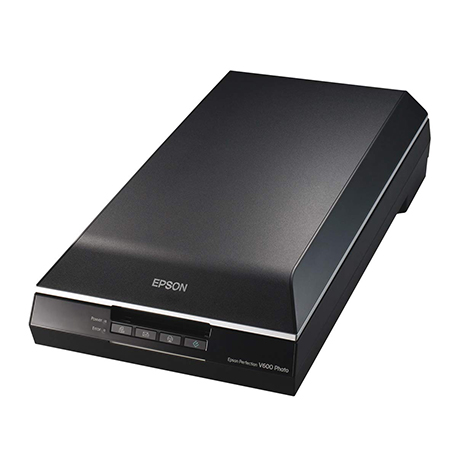 EPSON - Epson Perfection V600 Color Photo, Image, Film, Negative & Document Scanner - Corded-Epson Perfection V600 Color Photo, Image, Film, Negative & Document Scanner - Corded